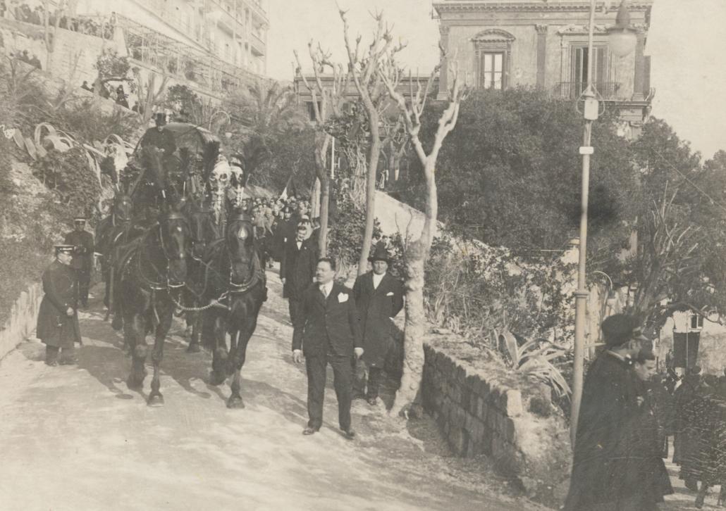 Corteo Funebre a Napoli