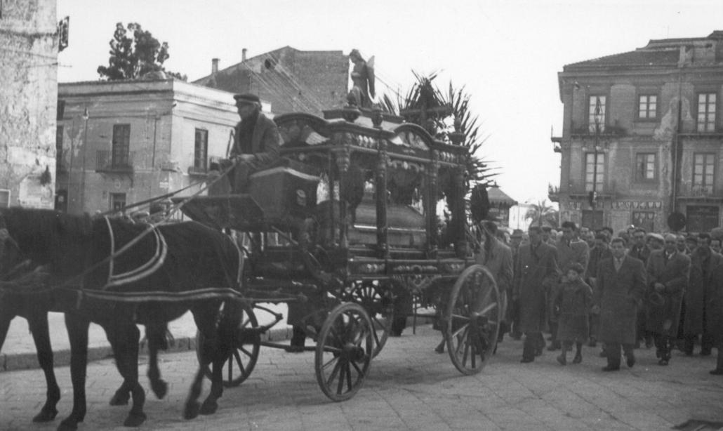 Corte funebre Bellomunno Napoli