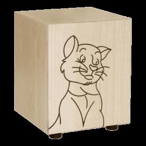 Urna personalizzabile gatto